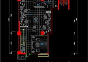 二层休闲吧方案设计图-约270平