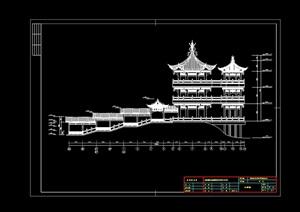 龙吟寺建筑设计cad施工图