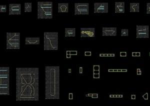 某别墅建筑石材构件CAD图