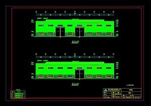 机械公司钢结构工程厂房CAD方案