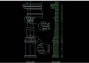 欧式建筑构件CAD常用图块