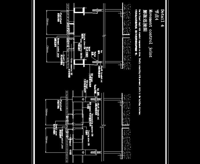中式吊顶CAD应用节点图(3)