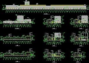永安某公司钢结构工程厂房CAD施工图