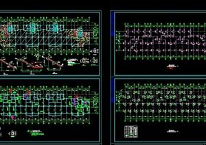 异形柱多层砌体结构住宅建筑cad图