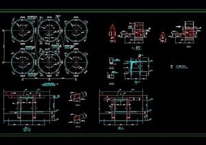 水泥厂钢结构工程厂房CAD图