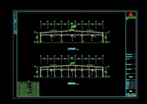 公司厂房工程建筑设计CAD方案
