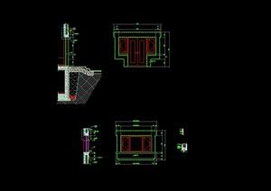 某建筑墙体构造设计cad施工图
