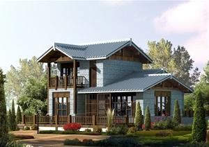 日式别墅设计cad方案图