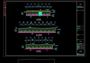 日升二厂房设计cad方案图