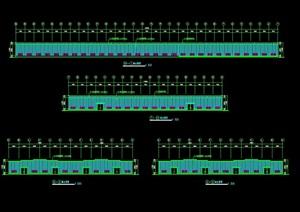 某公司厂房工程CAD方案图