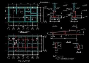 某建筑素材构件cad方案