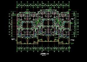某住宅别墅建筑cad方案图