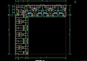 某商铺建筑设计cad户型图