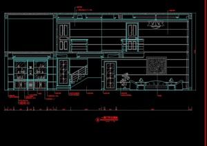 别墅室内装饰设计cad施工图