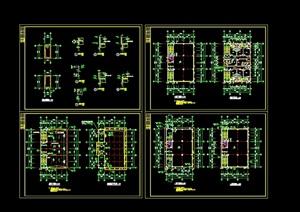 乡镇固戍村私宅cad方案图