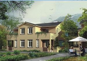 新中式自建别墅设计jpg方案