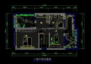 别墅室内设计cad施工详图