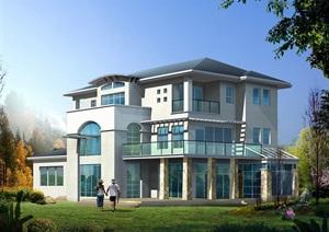 别墅多层独栋设计cad方案