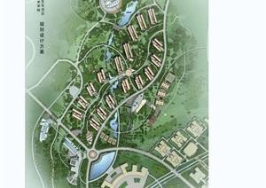 城市规划详细设计jpg总平图