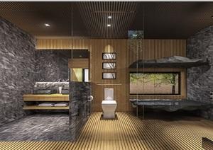 现代风格山地别墅室内空间设计pdf方案
