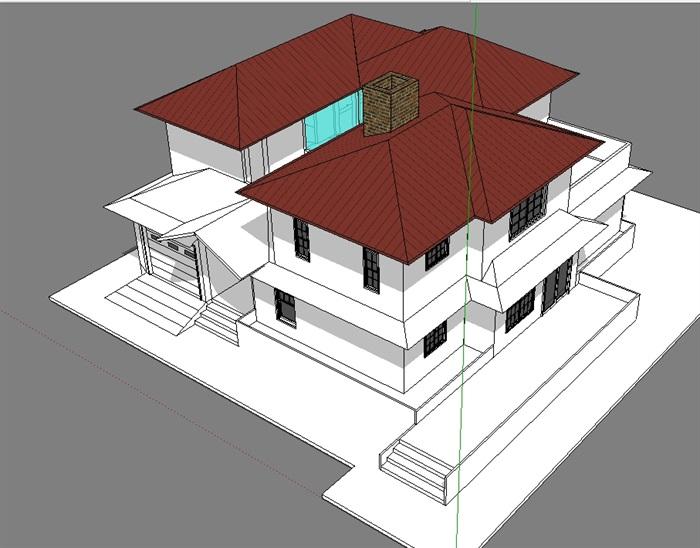 独立别墅模型(1)