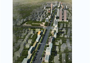 孝义大型道咱街道景观设计jpg方案