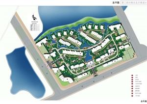 某阳湖住宅景观概念设计pdf方案