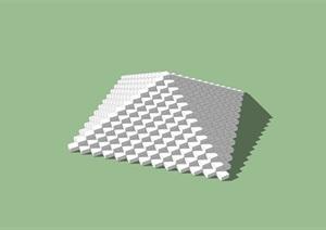景观小品独特素材SU(草图大师)模型