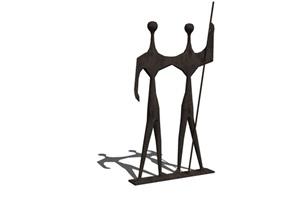 某抽象小品创意雕塑SU(草图大师)模型