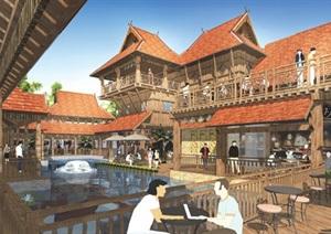 某傣族部落景观设计方案高清文本