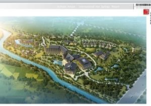某国际温泉度假酒店建筑设计方案高清文本