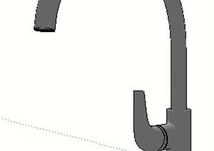水龙头素材设计SU(草图大师)模型
