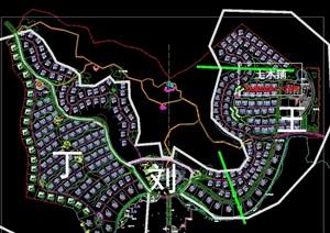 别墅区详细规划设计cad方案