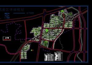 友谊苑详细住宅景观设计cad方案