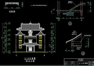 斯古拉寺建筑设计cad方案