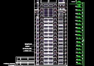 高层写字楼建筑方案
