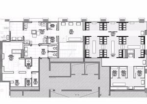 现代风格休闲会所室内设计方案
