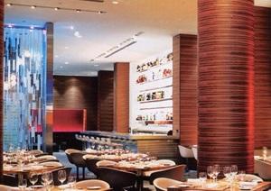 某酒店详细餐厅空间设计jpg方案