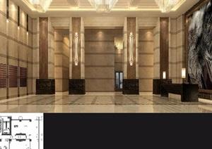 宝山酒店空间设计jpg方案