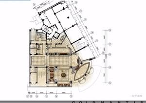 新疆伊犁鑫隆大酒店室内空间pdf施工图