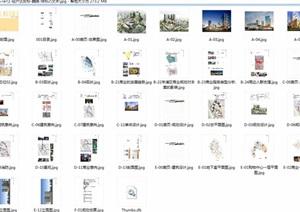 泰宁酒店旅游度假区景观设计cad、jpg方案