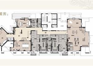 两层休闲会所室内设计方案