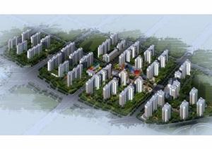 太原龙城小区住宅景观设计jpg方案