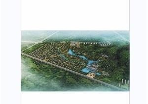 漳州迎宾馆酒店景观设计jpg、cad方案