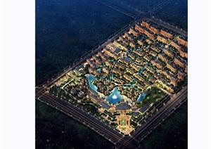 安阳亚龙湾住宅详细景观设计jpg方案