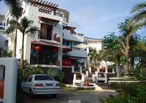 三亚圣芭芭拉国际度假公馆小区jpg实景图