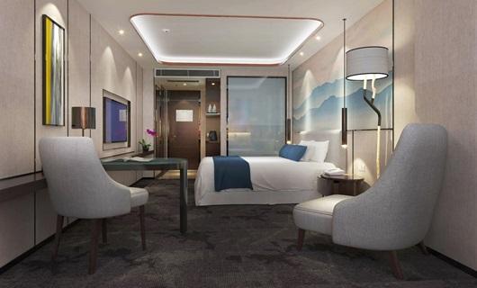 新中式酒店臥房
