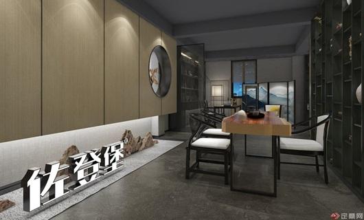 新中式家私展廳