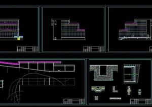 某会所建筑设计cad方案