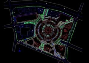 现代广场规划平面图